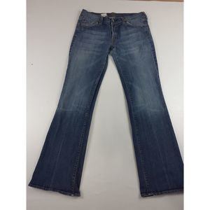 7 FOR ALL MANKIND BY JEROME DAHAN BOOTCUT JEANS
